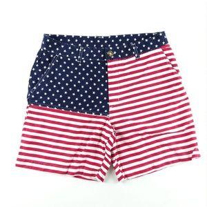 Chubbies Mens 'Mericas Shorts Flat USA July 4th M